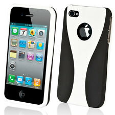 NEW STYLISH WHITE GRIP SERIES HARD CASE COVER BUMPER FOR APPLE iPHONE 4 4G 4S