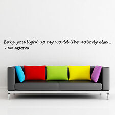 1D Wall Sticker Q26