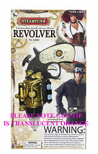 Steampunk Costume Revolver Prop ONLY Steampunk Gun Steam Punk Weapon 66238