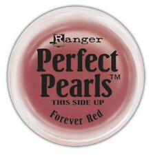 FOREVER RED Perfect Pearls Pigment Powder 1oz Jar - Ranger