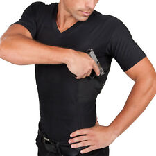 UnderTech Undercover Men's V-Neck Concealment Shirt T0420