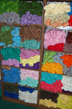 Vintage Aunt Lydia's Rayon/Cotton Rug Yarn 70 Yards - Colors Evergreen to Lilac