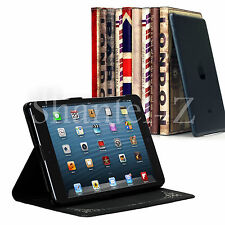 RETRO CLASSIC VINTAGE PU LEATHER CASE COVER WITH STAND FOR APPLE IPAD MINI UK