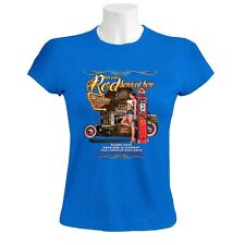 Get Your Rod Serviced Hd Women T-Shirt Rat car roadhouse gas station retro old