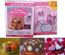 DEAGOSTINI CAKE DECORATING COLLECTION MAGAZINE INCLUDES GIFTS ISSUE 51 & ABOVE
