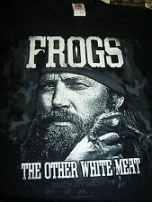 DUCK DYNASTY FROGS THE OTHER WHITE MEAT JASE T-SHIRT NEW !