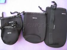 Neoprene Matin Soft Camera Lens Bag Pouch - Size XL L M S for selection