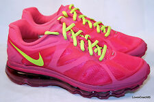 Nike Air Max 2012 (GS) Desert Pink/Atomic Green-Rave Pink 5.5Y-7Y NIB 488124-601
