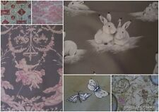 FRENCH FABRIC TOILE  PIECES  bargain!12 X 12 INS ..Free post  Europe + 1 piece