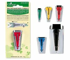 Clover Bias Tape Maker Tool Sewing Quilting SELECT YOUR SIZE!