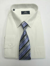 Men's Rael Brook Shirt and Tie Set 10 Colours Work Formal Business Casual BNWT