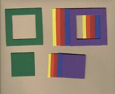 Your choice of colors on Frames-Straight Die Cuts - AccuCut