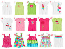 SZ 3-9 NWT GYMBOREE ICE CREAM SWEETIE BIG KID GIRLS SUMMER CLOTHES TOPS YOU PICK