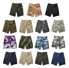 Military BDU Combat Cargo Shorts Army bdu Tactical Shorts Solid and Camo Colors