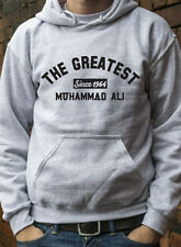 THE GREATEST Since 1964 MUHAMMAD ALI JUMPER HOODY Boxing KO AWESOME HOODIE L0246