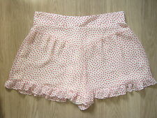 TOPSHOP SHORTS RED & WHITE HEART PRINT- Various Sizes RRP £30