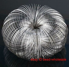 Hot 100/300 loops steel memory wire for bracelets  bangle cuff