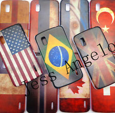 Ancient Retro UVcoating National Flag Case Cover For Google Nexus 4 LG E960