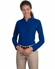 Port Authority Ladies 5 Oz Long Sleeve Silk Touch Polo Shirt. L500LS