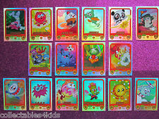 Series 2 Moshi Monsters Mash Up! cards: pick your rainbow foil cards