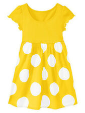 NEW GAP POLKA DOT YELLOW DRESS SIZE 2T 3T