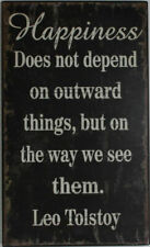 Inspirational Wooden Vintage Rustic Wall Art Plaque Sign Saying Quotes 40x24cm