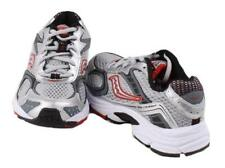 Saucony Cohesion Boys Toddlers Grey/Silver/Red Walking Sneakers WIDE Width