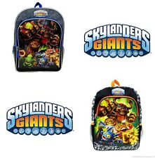 "SKYLANDERS GIANTS POP TRIGGER 16"" Full Size Multi-Pocket School Backpack NWT $30"