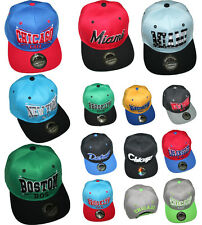 Hip Hop SNAPBACK  CAP CITY Caps Urban LA NY NEW York TRUCKER ERA basecap flexfit