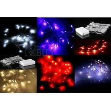 AA Battery Power 40 LED Christmas Wedding Party String Fairy Lights Valentine's