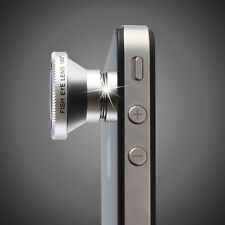 Camera Lens for Mobile Phones- 180° Fish Eye - .67X Wide Angle Macro - 2X Zoom