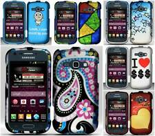 For Samsung Galaxy Ring M840 Paisley Stars Patterns Hard Snap On Cover Case