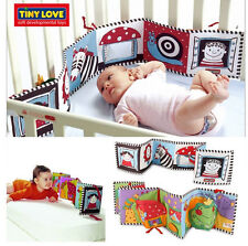 baby soft toy dual-sided first book encourages visual stimulation bed circle 1pc