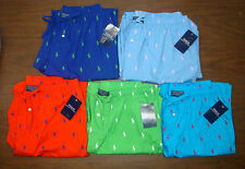NWT $42 Polo Ralph Lauren Pajama Pants Men ALLOVER PONY Medium Large XL FREE NEW