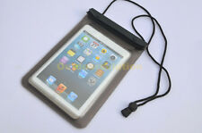 Waterproof Pouch  Bag TPU Skin Case Cover for 7-8.2 inch tablets iPadMini Nexus7