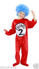 Thing 1 & 2 Kids Costume Dr Suess Costume 403220