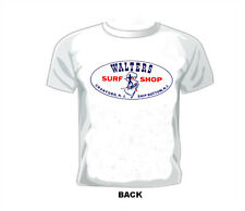 Vintage SURF/SURFING/SURFBOARD/SURF SHOP/ T-shirt WALTERS SURF SHOP NEW JERSEY