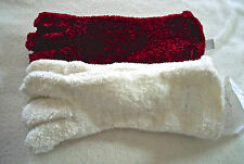 Charter Club Gloves, Chenille Roll Top Gloves