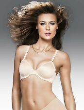 MAIDENFORM PURE GENIUS TAILORED UNLINED UNDERWIRE BRA #7176 BEIGE NWT