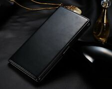 New PU Leather slot wallet Cover stand Flip Case for Sony Xperia Z Ultra XL39h