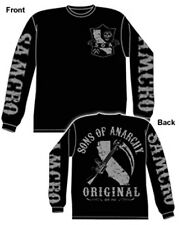 SONS OF ANARCHY CALIFORNIA ORIGINAL LONG SLEEVE T-SHIRT NEW !