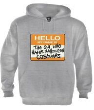 Hates Halloween Costumes Hoodie Easy Costume Spooky Party scary Drinking Zombie