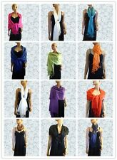 New Solid Pashmina Cashmere Long Scarf / Wrap /Shawl /Stope Pick your Color