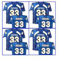 FRIDAY NIGHT LIGHTS TIM RIGGINS #33 Season 3 Blue Men Jersey Pick A Size