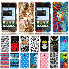 For Huawei Ascend Plus H881C Valiant Y301 Case Hard Phone Cover Aztec Geometric