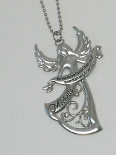 "Ganz Guardian Angel Car Charm Personalized Names J thru M ""Never Drive Faster"""