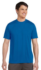 Alo Men's Performance Dry Wicking Short Sleeve Polyester Sports T-Shirt. M1009