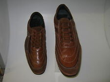 9010. TAG 1 MENS CASUAL LACE UP SHOES IN TAN LEATHER.