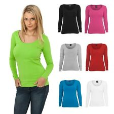 URBAN CLASSICS LADIES BASIC L/S TEE