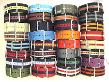 Olde Aspen - Nylon / Fabric / Canvas Watch Band Straps  - 16mm 18mm 20mm 22mm